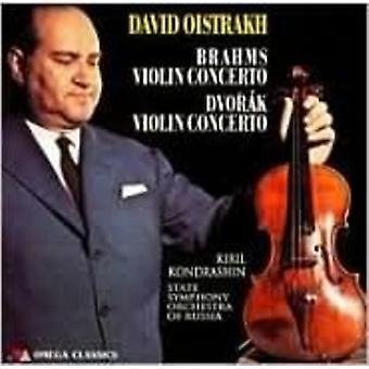 Brahms / Dvork / Oistrakh / Ussr Symphony Orch - Violin Concertos [CD] USA import