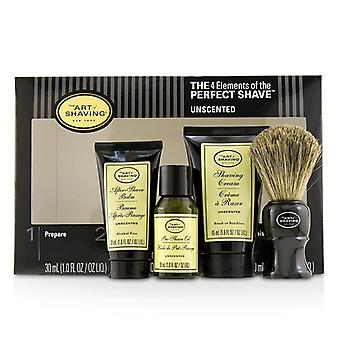 The Art Of Shaving The 4 Elements Of The Perfect Shave Mid-size Kit - Unscented - 4pcs