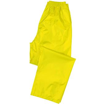 Portwest Mens Classic Waterproof Rain Pants Over Trousers Navy, Black, Yellow