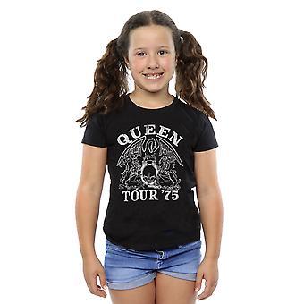 Queen Mädchen Tour 75 Crest T-Shirt