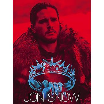Jon Snow Poster Game Of Thrones Art Print (18x24)