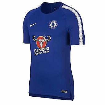 2018-2019 Челси Nike Обучение рубашка (синий)