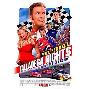 Talladega Nights The Ballad of Ricky Bobby Movie Poster (11 x 17)