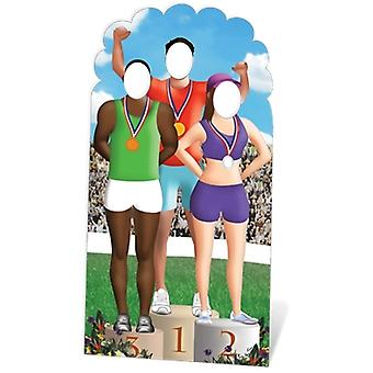 Olympic Lifesize Cardboard Stand-In
