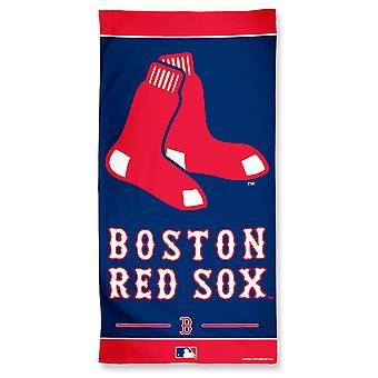 وينكرافت MLB بوسطن الجوارب الحمراء الشاطئ منشفة 150x75cm