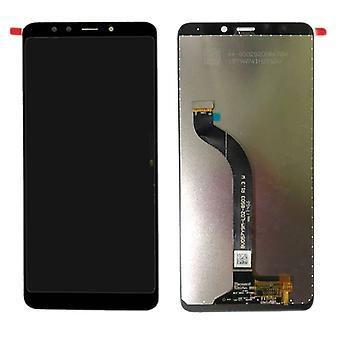 Displayenheden fuld LCD touch reservedele til Xiaomi Redmi 5 reparation sort