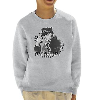 JoJos bizarr kaland jotaro Yare Yare Daze Kid ' s pulóver