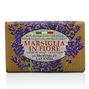 Nesti Dante Marsiglia i Fiore grønne såpe - lavendel - 125g/4.3 oz