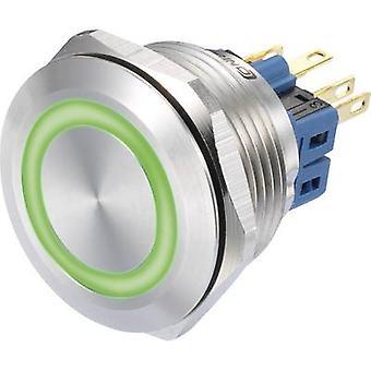 TRU komponenter GQ28-11E/G/12V trykknapp 250 V AC 3 et 1 x On/(On) IP65 kortvarig 1 eller flere PCer