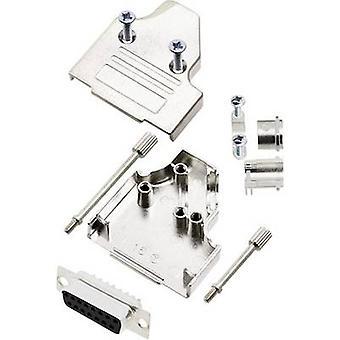 encitech MHDM35-15-DBS-K 6355-0007-12 D-SUB receptáculo conjunto 180o Número de pines: 15 Cubo de soldadura 1 Conjunto