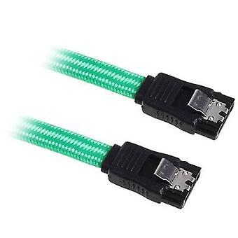 Bitfenix Hard drives Cable [1x SATA socket 7-pin - 1x SATA socket 7-pin] 30.00 cm Green, Black