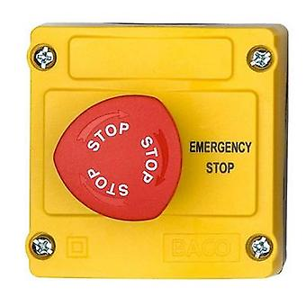 BACO LBX130119 Kill switch + caja 240 V AC 2.5 A 3 interruptores IP66 1 PC