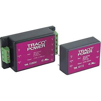 AC/DC PSU (tryck) TracoPower TML 15105C 5 V DC 3 A 15 W