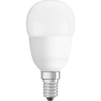 OSRAM LED (monochrome) EEC A+ (A++ - E) E14 Droplet 5.7 W = 40 W Warm white (Ø x L) 45 mm x 88 mm 1 pc(s)