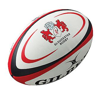 GILBERT gloucester replica rugby ball - Size 5