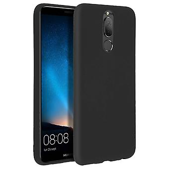 Forcell case for Huawei Mate 10 Lite, soft touch cover, silicone case - Black