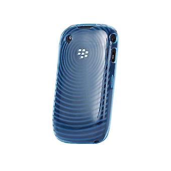ורייזון סיליקון מקרה עבור עקומת Blackberry 9330, 9300, 8530, 8520-כחול