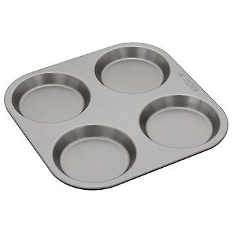 Judge Bakeware, 4 Cup Yorkshire Pudding Tin, 10 X 1.5cm, (4 X �inch)