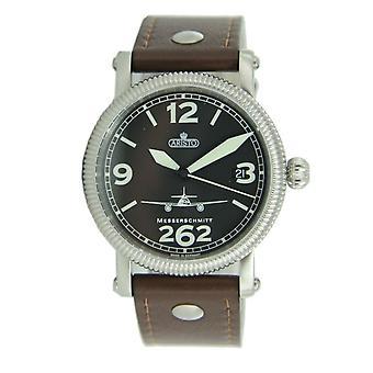 Aristo Messerschmitt Men's clock Fliegeruhr small ME262 automatic 7H68