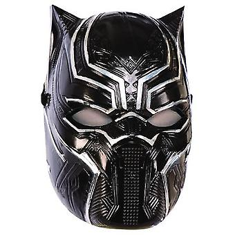 Black Panther hämnare montera mask - barn MARVEL kids superhjälte mask Carnival