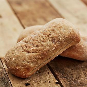 Country Range Frozen Rectangular Ciabatta Bread Rolls