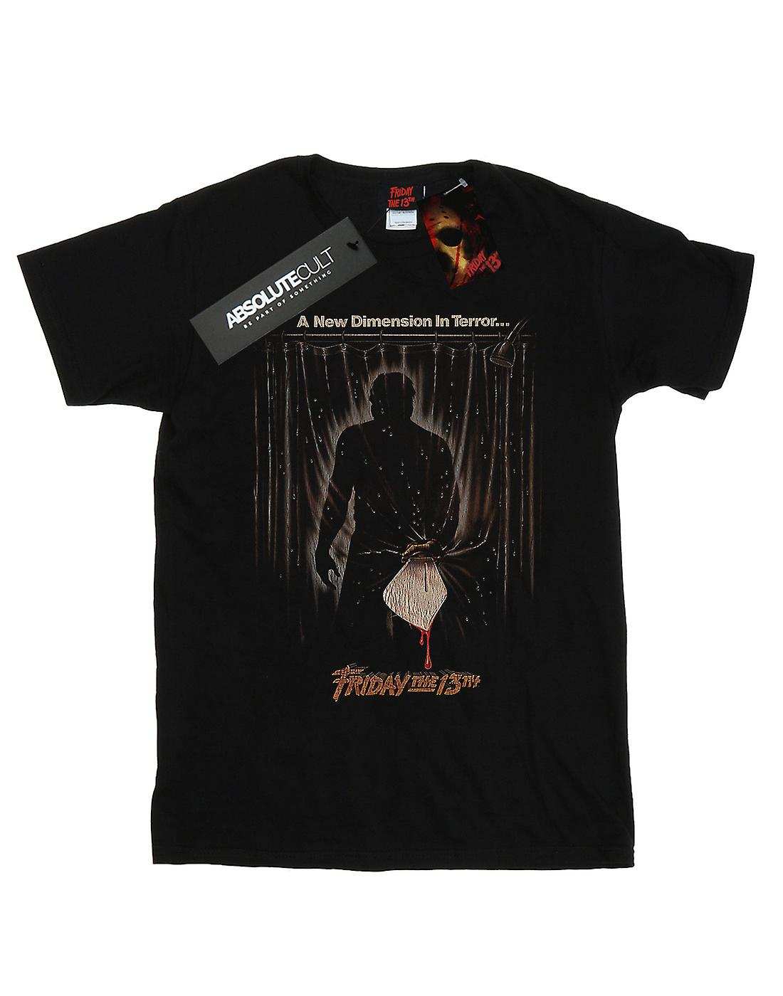 Friday The 13th Men's Shower Poster T-Shirt