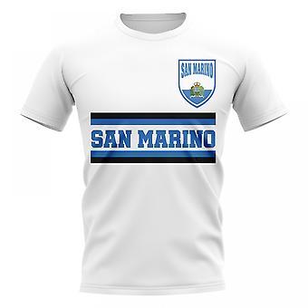 Saint-Marin Core Football pays T-Shirt (White)