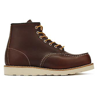 Red Wing Shoes Mens Briar Oil Slick 6-Inch Moc Toe Boots