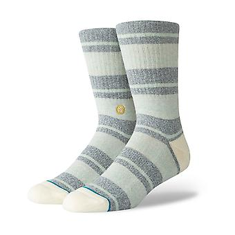 Stance Cope Crew Socks in Natural