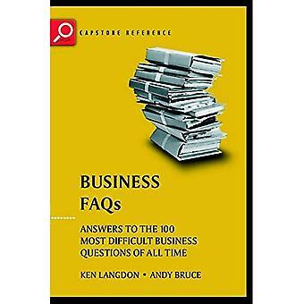 Företag Faq svar på 100 svåraste Business frågor genom tiderna