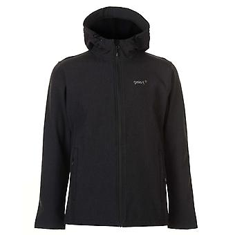 Gelert Mens Softshell Hooded Jacket