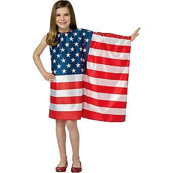 Kleid-USA-Flagge