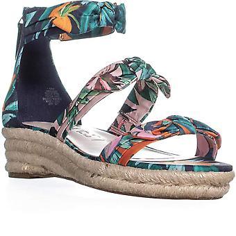 Nine West Womens Allegro Open Toe Casual Espadrille Sandals