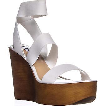 Steve Madden dame Blondy åben tå afslappet Platform sandaler