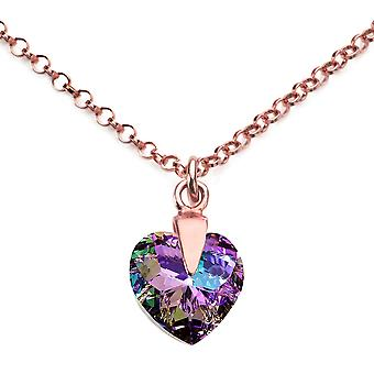 Ah bijoux Vitrail Light coeur cristal de Swarovski