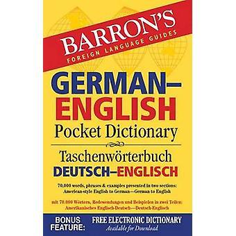 Barron's German English Pocket Dictionary (2nd abridged edition) by U