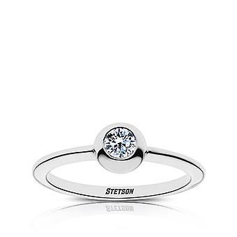 Stetson University Diamond Ring In Sterling Silver Design by BIXLER