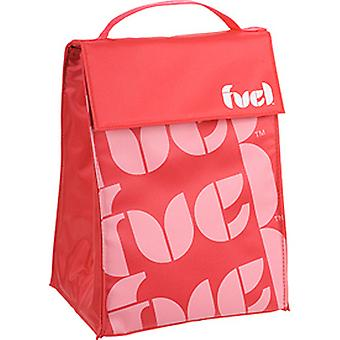 Trudeau Fuel Triangle Insulated Lunch Bag, Red