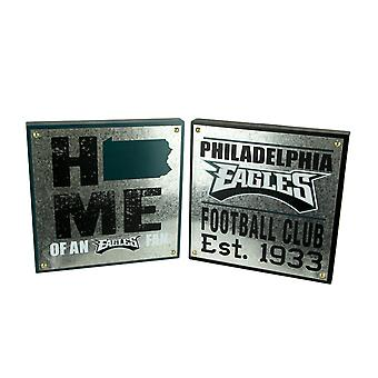 NFL Philadelphia Eagles Football Club and Home State Wall Hangings
