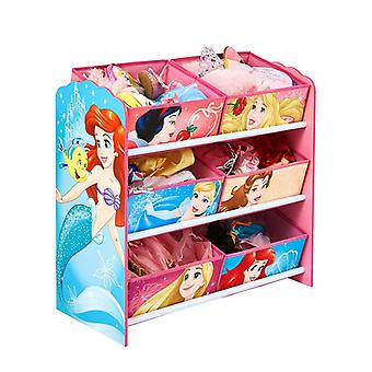 Disney Princess 6 bin lagrings enhet