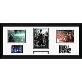 Harry Potter 7 del 2 Storyboard inramade Collector Print 75x30cm