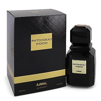 Ajmal patchouli wood eau de parfum spray (unisex) od ajmal 543847 100 ml