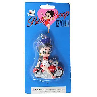 Sleutelhanger-Betty Boop-Biker Betty Boop 3-D sleutelhanger nieuwe gelicentieerde speelgoed KR-12