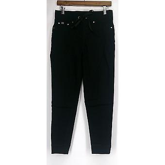 Diane Gilman Jeans Super Stretch Lite Easy Fit Jegging Femmes noires 421-054