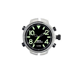 Watx&colors xxl analogic Quartz Analog Man Watch with RWA3704 Rubber Bracelet