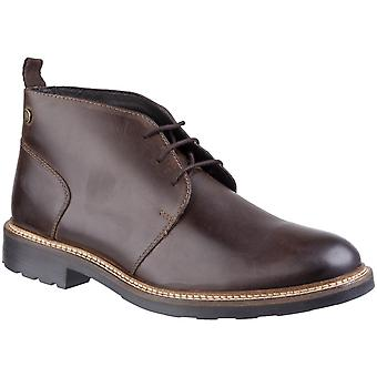Base London Herre Tully Pull Up Chukka Boot Brown