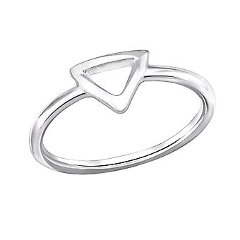 Triangle - 925 Sterling Silver Plain Rings - W29253X