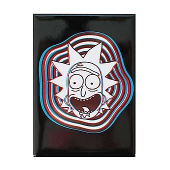 Rick And Morty 3D Rick Magnet