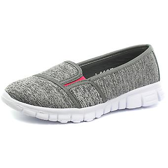 dek Womens Side Gusset Summer Casual Slip On Shoes  AND COLOURS