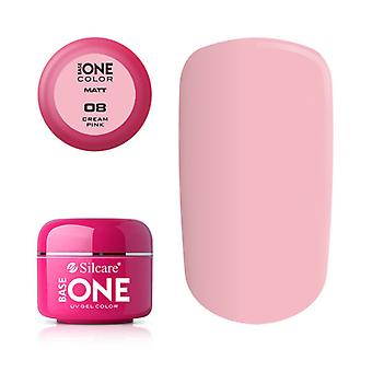Base one-matte-Cream pink 5g UV gel